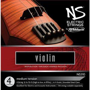 D'Addario NS310 Electric Violin Strings
