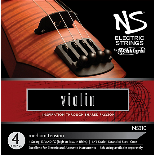 D'Addario NS310 Electric Violin Strings