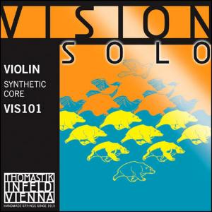 Vision Solo Violin Set With D Silver VIS101
