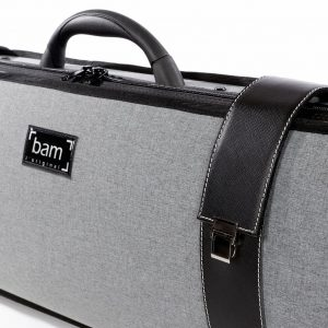 BAM Grey Flannel Hightech Oblong Violin Case
